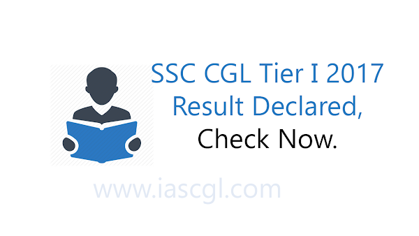 SSC CGL Tier I result declared