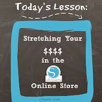 Silhouette online store, dollar, stretching