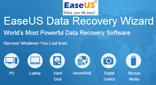 Most Powerful EaseUS Data Recovery Wizard Free