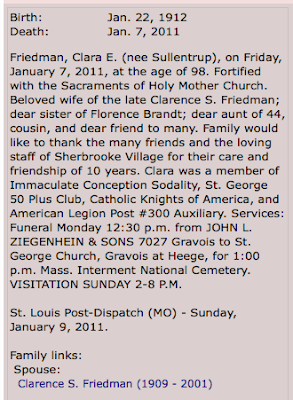 clara friedman obituary