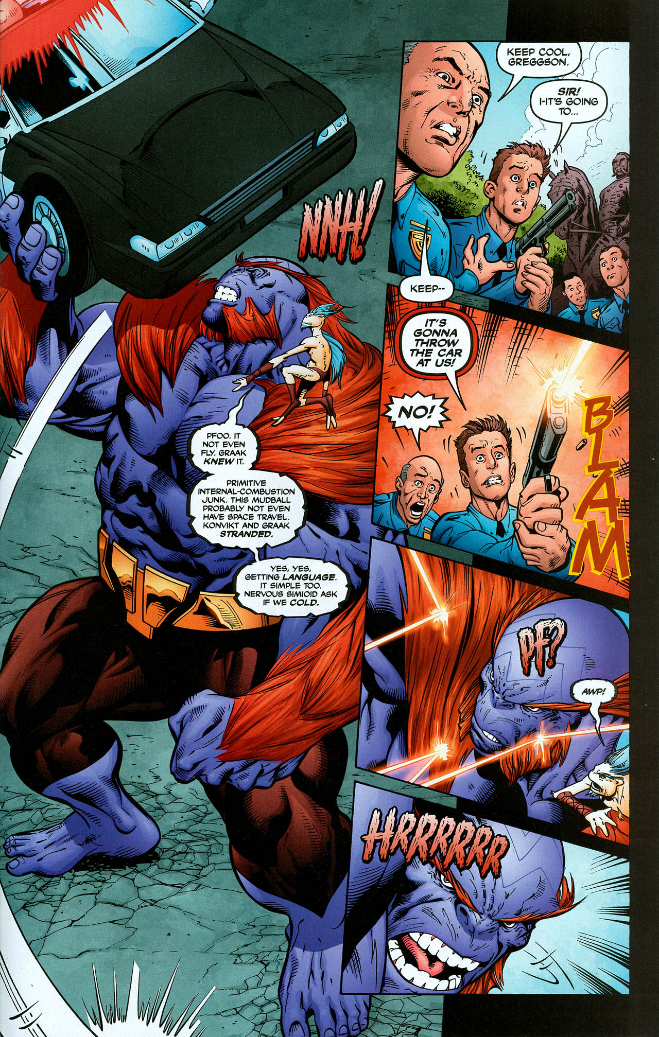 Read online Trinity (2008) comic -  Issue #2 - 22