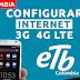 Configurar Internet APN 3G/4G LTE ETB Colombia 2019