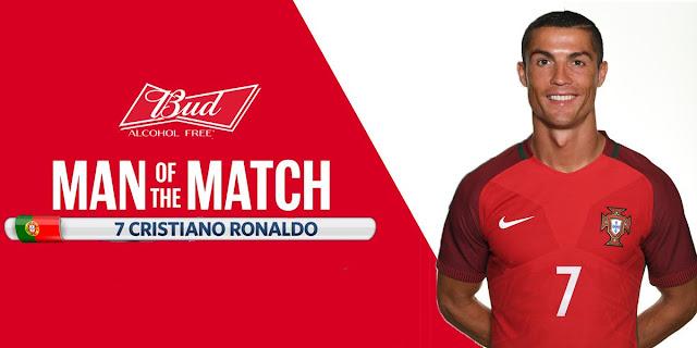 Cristiano Ronaldo MVP del partido Rusia-Portugal de la Copa Confederaciones