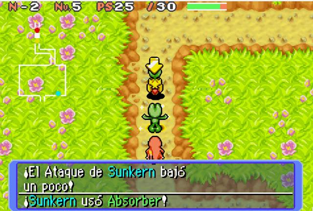 Pokémon Mundo Misterioso - Español - GBA - Captura 4