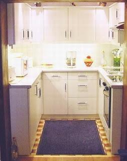M nica dise os una cocina peque a - Disenos de cocinas pequenas y sencillas ...