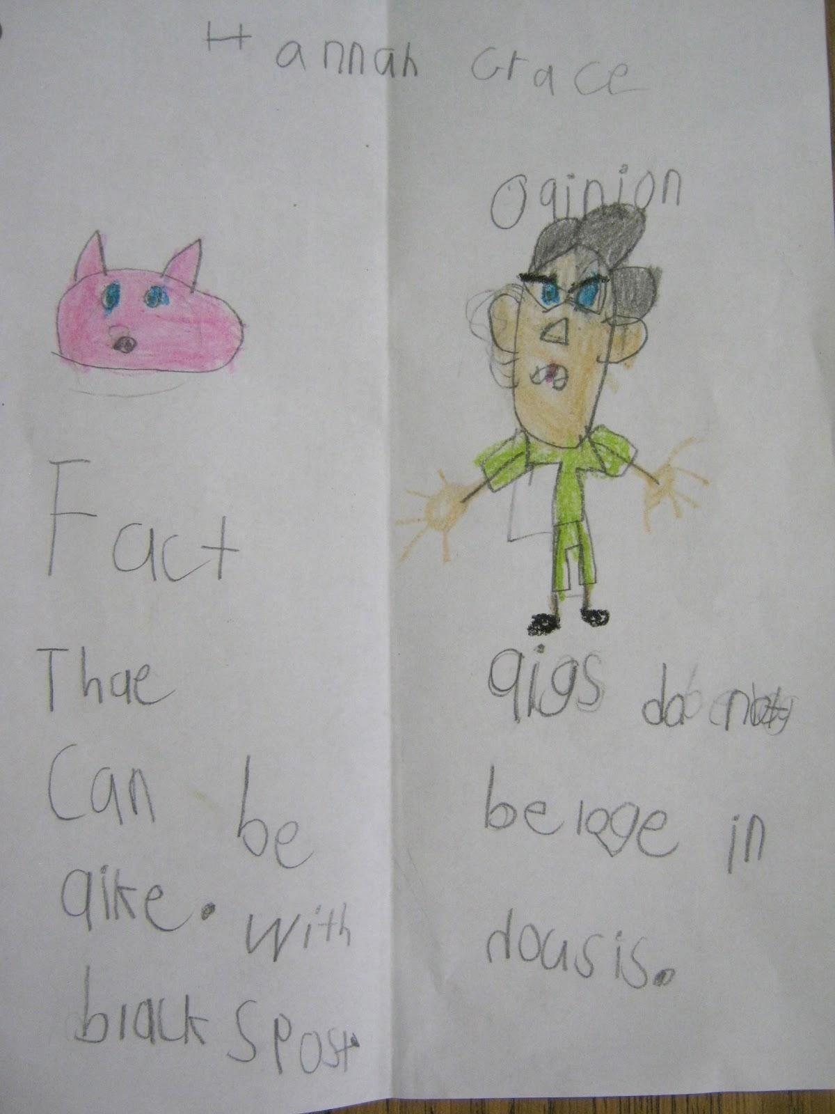 Smart Kids Mercy Watson Fact And Opinion