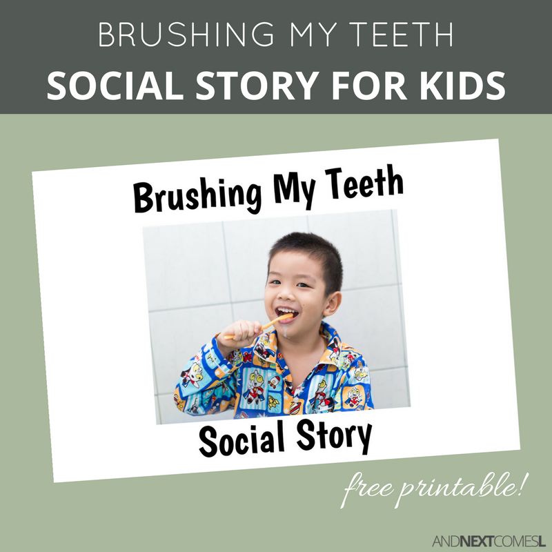 Geeky image throughout social story printable
