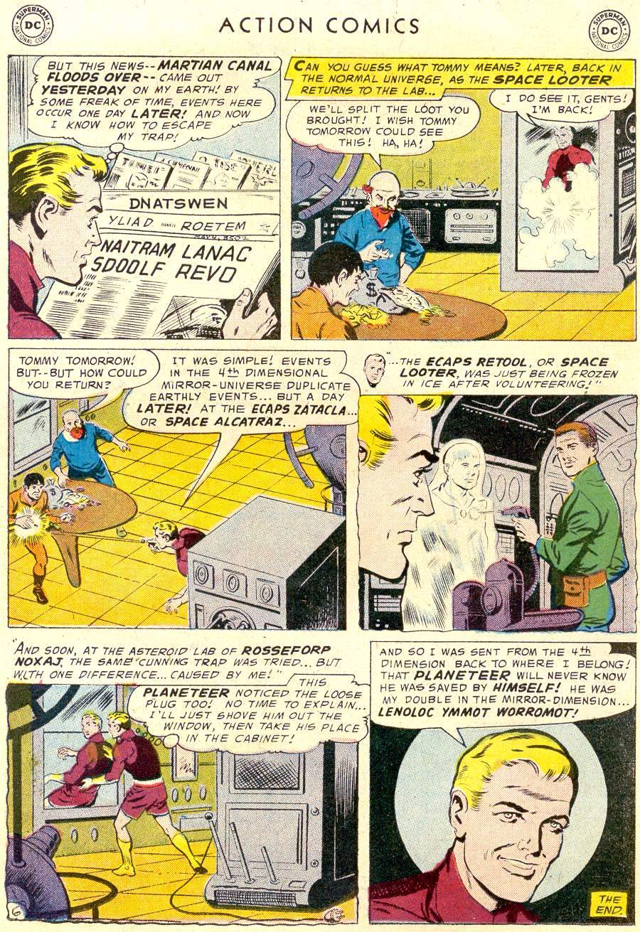 Read online Action Comics (1938) comic -  Issue #238 - 23