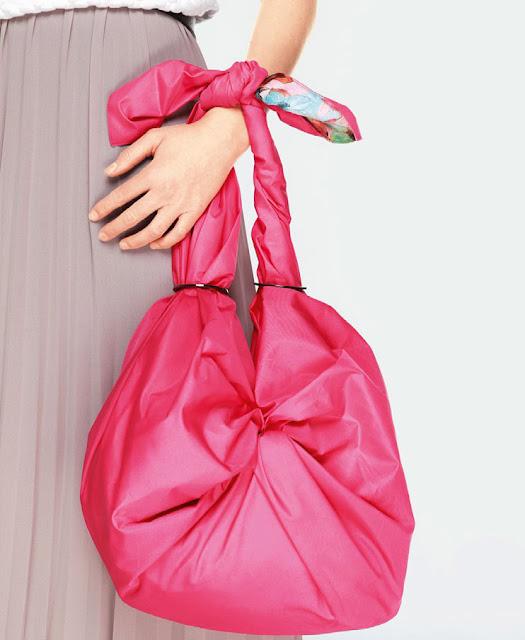 Сумка из платка. Bag of headscarf
