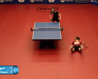 Le match de ping-pong le plus épique au monde!
