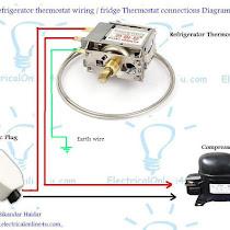 Fridge Thermostat Wiring Diagram Wiring Source