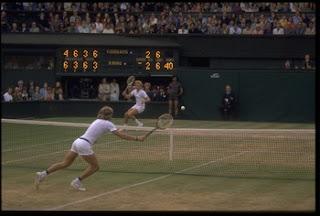 Borg v Gerulaitis, Wimbledon 1977