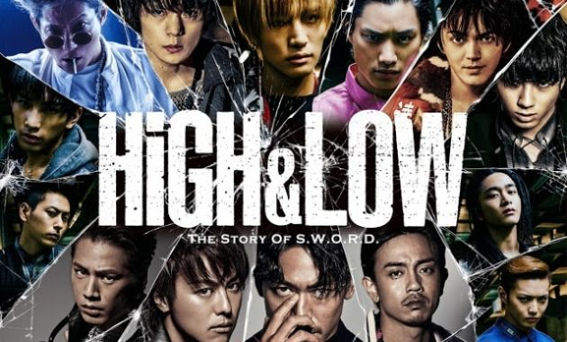 Download Drama Jepang High & Low The Story of S.W.O.R.D. Batch Subtitle Indonesia