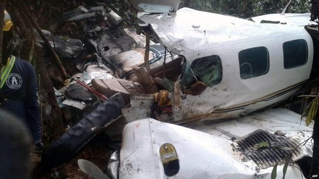 Plane Crash Mother And Baby Survive Colombia Jungle Plane