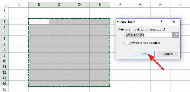 Cara Membuat Tabel di Microsoft Excel,Cara Membuat Tabel di Excel, Cara Membuat Tabel di Microsoft Excel untuk Pemula, Cara Membuat Tabel di Microsoft Excel 2007, Cara Membuat Tabel di Microsoft Excel 2003, Cara Membuat Tabel di Microsoft Excel 2010, Cara Membuat Tabel di Microsoft Excel 2013, Cara Membuat Tabel di Microsoft Excel 2016, Cara Membuat Tabel di Microsoft Excel 365, Cara Membuat Tabel di Microsoft Excel dengan Mudah