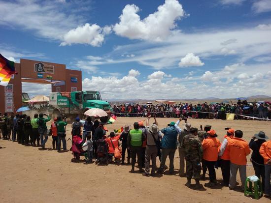 Villazón, Tupiza y Uyuni garantizan paso del Rally Dakar