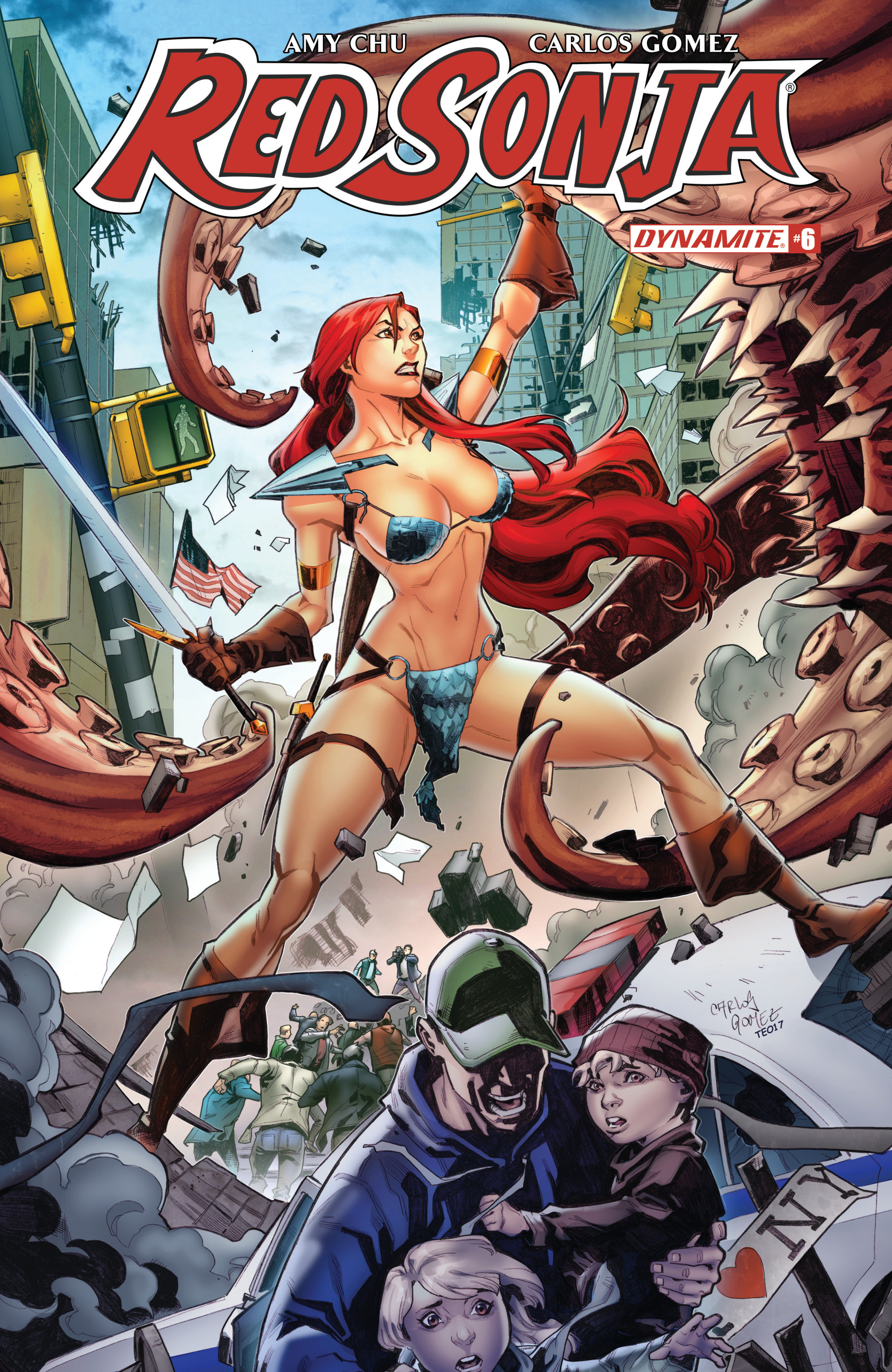 Read online Red Sonja Vol. 4 comic -  Issue #6 - 3