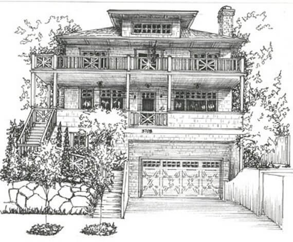 10-Custom-House-Portrait-Mary-Frances-Smith-Architecture-Expressed-in-House-Drawings-www-designstack-co