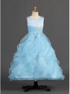 vestido azul para daminha