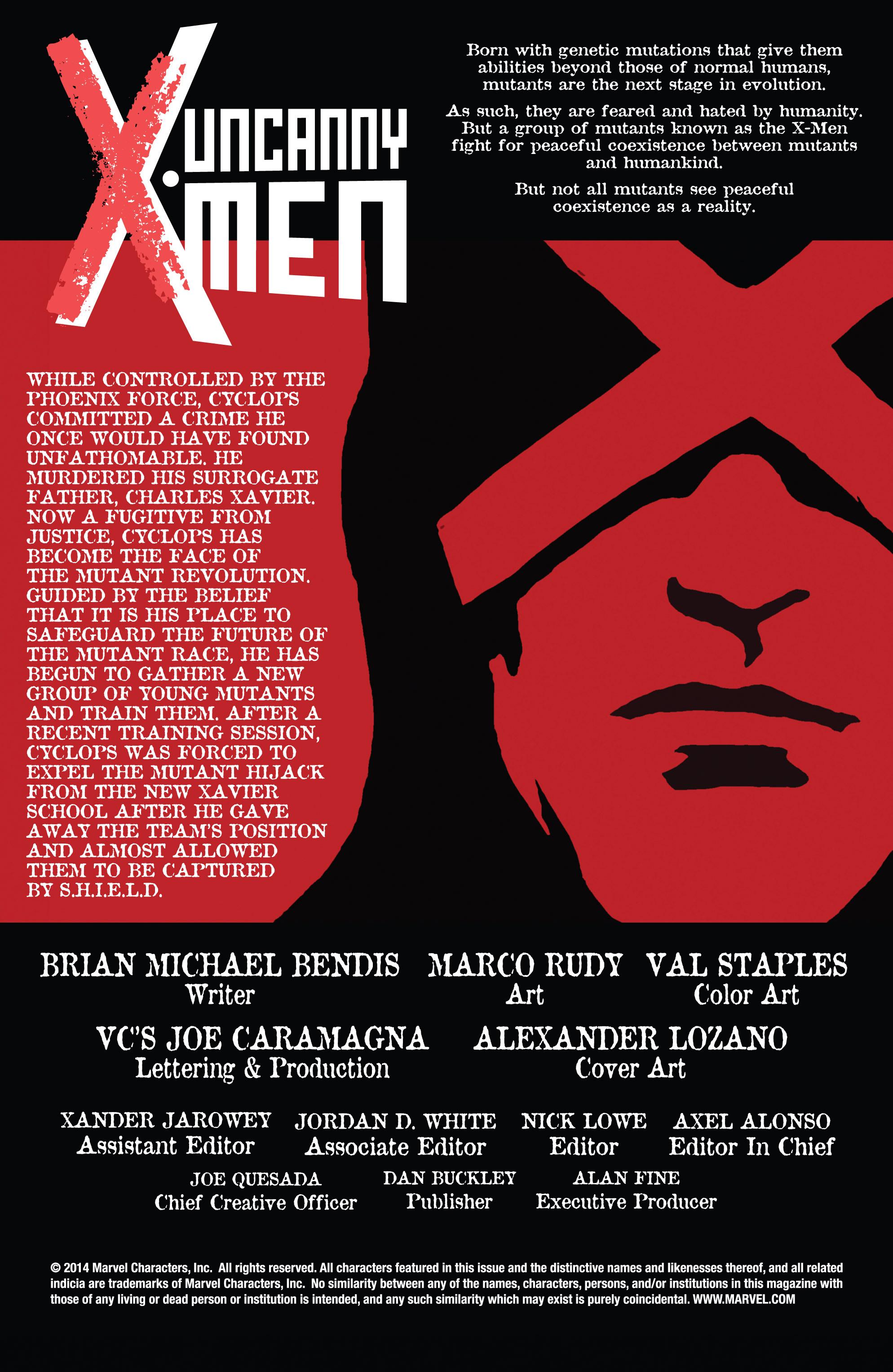 Read online Uncanny X-Men (2013) comic -  Issue #18 - 2