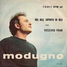 Guido Crepax designed the sleeve for Domenico  Modugno's hit, Nel blu, dipinto di blu