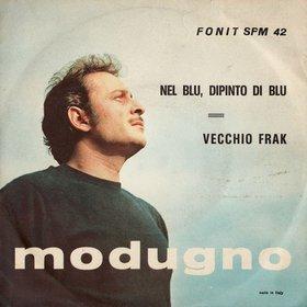 Guido Crepax designed the sleeve for Domenico  Modugno's hit, Nel blu, dipinto di blu