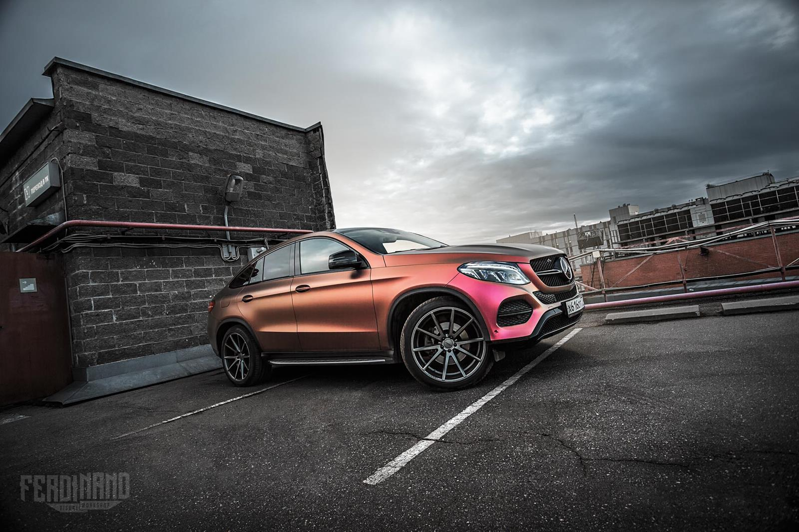 mercedes benz w292 gle coupe vfs1 vossen wheels benztuning. Black Bedroom Furniture Sets. Home Design Ideas