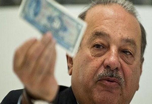 """Carlos Slim """"suelta la lengua"""" y lo dice todo sobre la corrupción en México."""