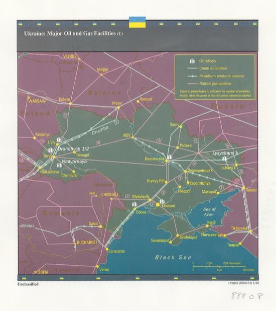 Gas y petróleo en Ucrania (1996)