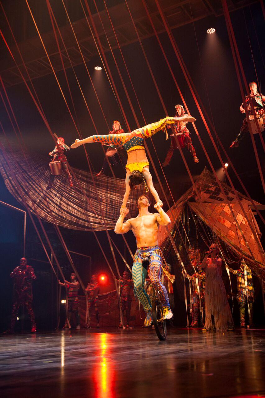 Diary Of A Trendaholic Cirque Du Soleil Volta Review