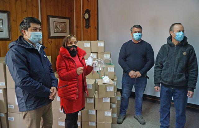 Donación en Puyehue