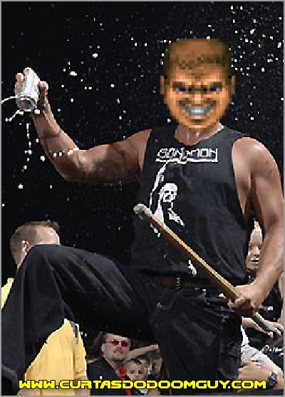 E se o Doomguy fosse lutador de luta livre?