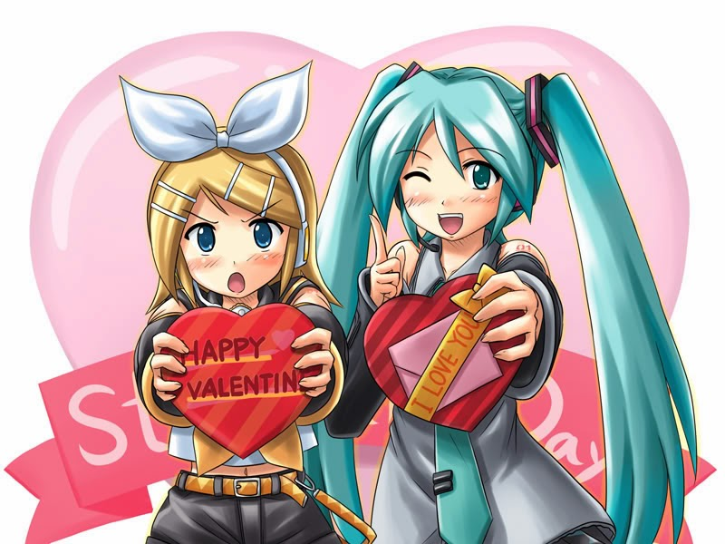 Happy valentines day happy valentines day anime - Happy valentines day anime ...