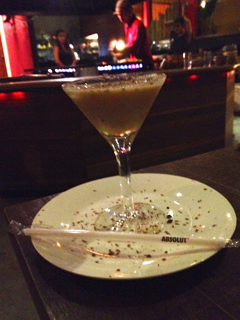 TANTRA GRILL -  MARTINI DE CHOCOLATE