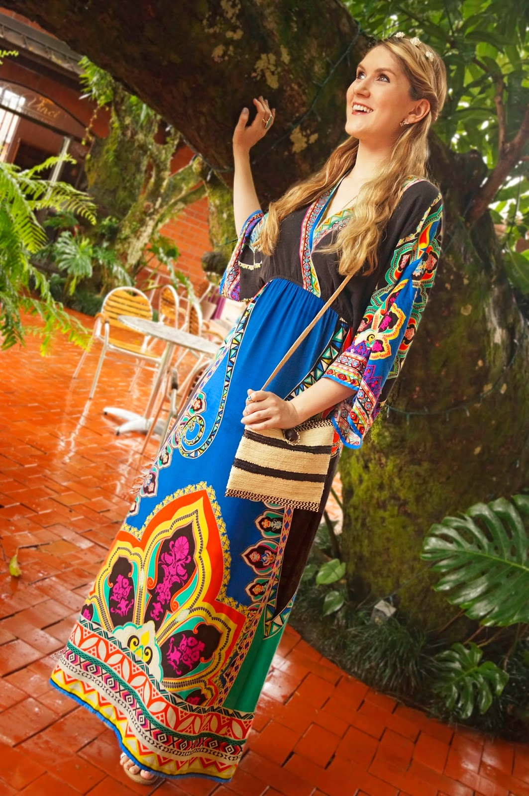 Gorgeous boho maxi dress for Summer