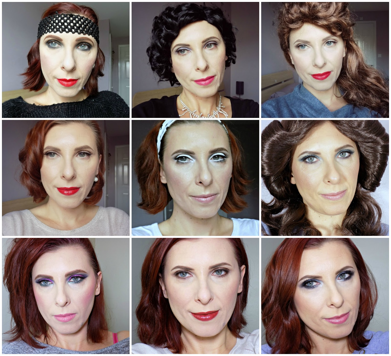 Makeup through the decades