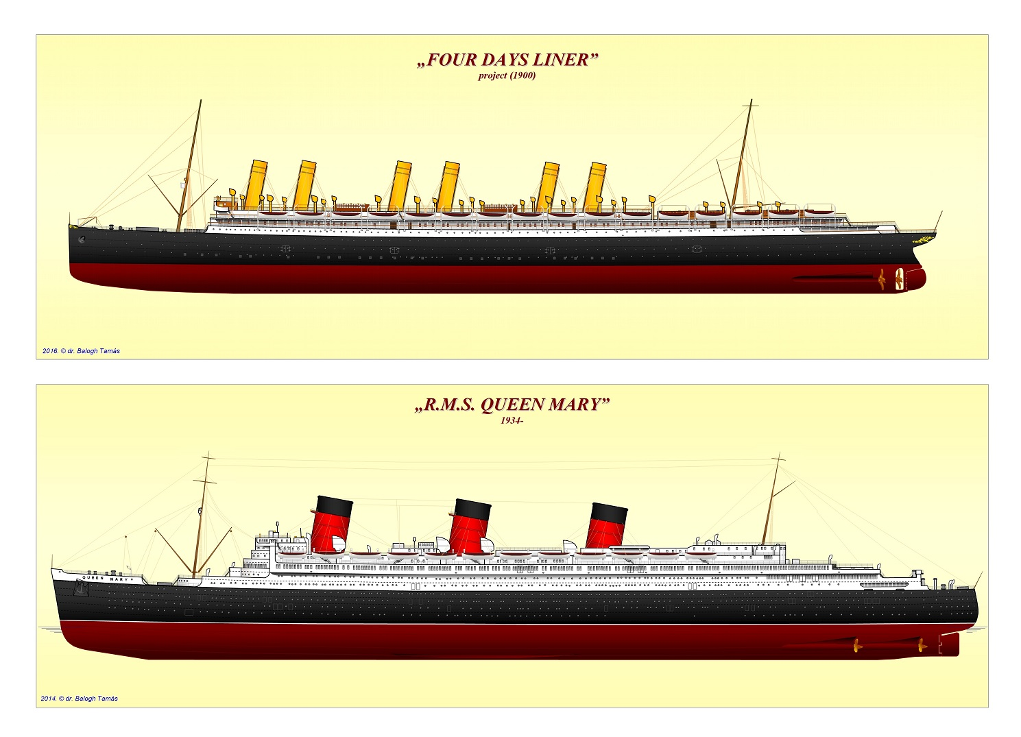 Books Liner Scale Drawings The Story Of A Long Journey To LINERS - Cruise ship drawings