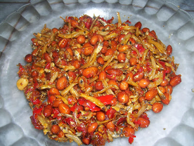 Resep Membuat Sambal Goreng Teri Kacang Tanah