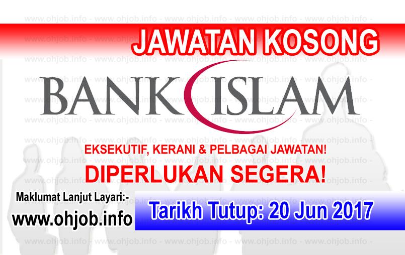 Jawatan Kerja Kosong Bank Islam Malaysia Berhad logo www.ohjob.info jun 2017