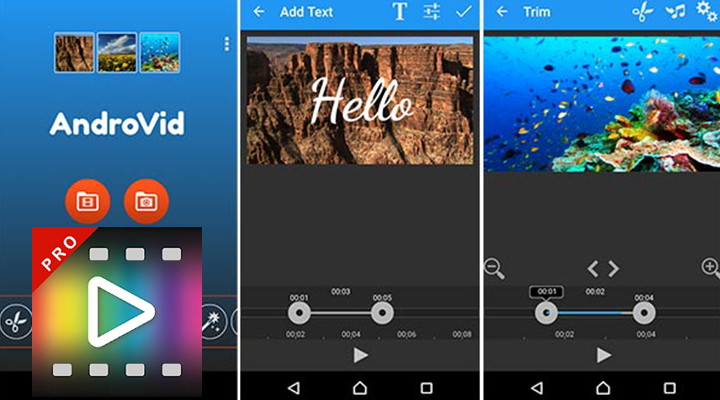Free Download AndroVid Pro