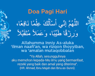Kalimat Doa waktu pagi