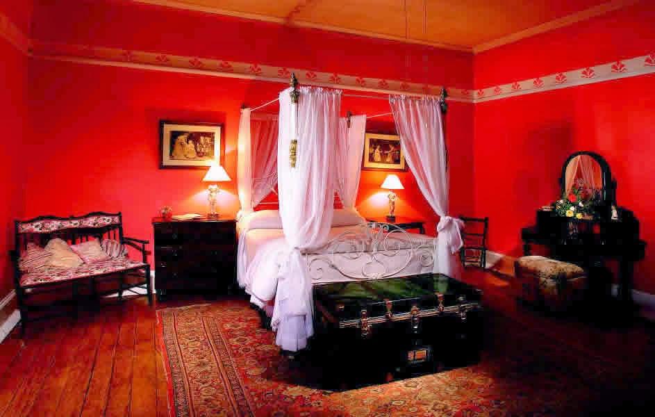 Dormitorios de color rojo ideas para decorar dormitorios for Diseno de dormitorio blanco