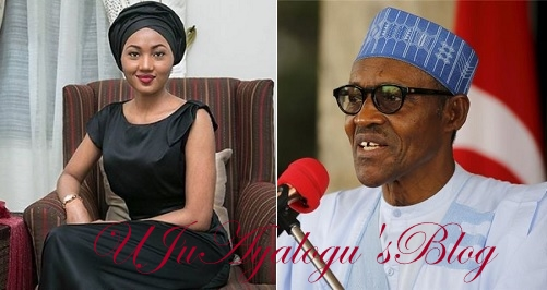 President Buhari's daughter, Zahra Buhari-Indimi has finally said something about her father, the President' health.