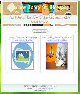 Lajang Template Blogspot