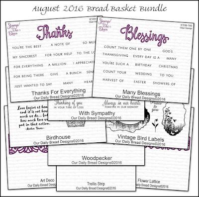 Our Daily Bread Designs August 2016 Bread Basket Bundle