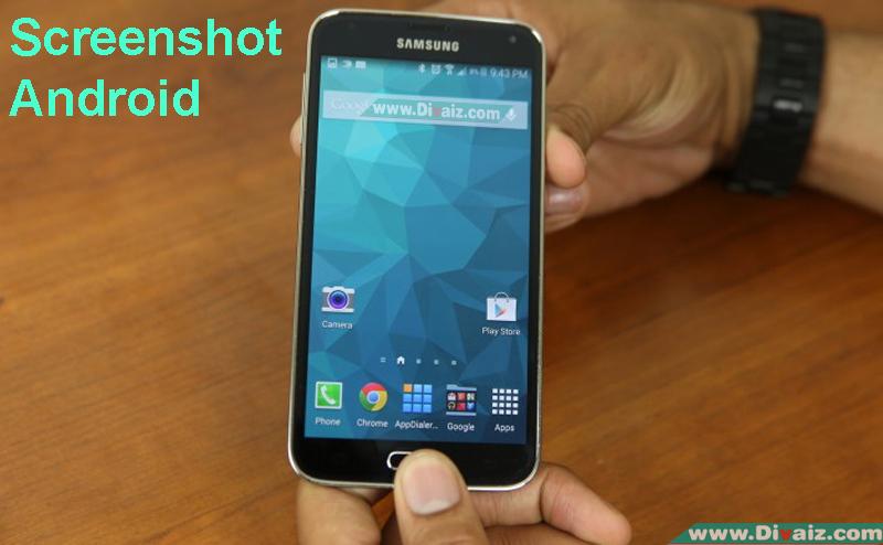 Cara Screenshot Tampilan Layar HP Samsung Semua Tipe Tanpa Aplikasi