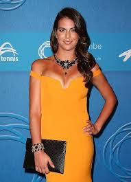 Nick Kyrgios Girlfriend Ajla Tomljanovic At Tennis Event
