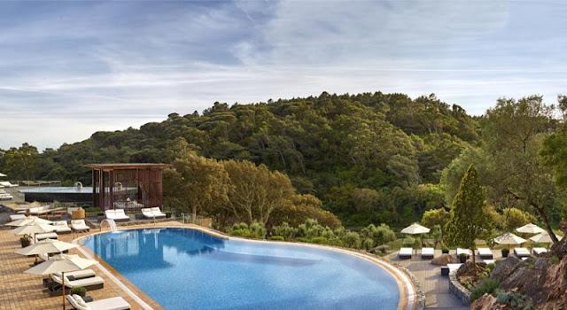 Dicas de hotéis em Sintra - hotel com piscina