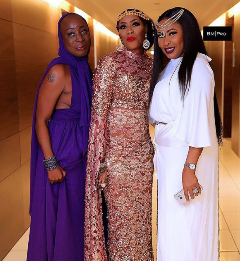 Mo Abudu's look to TWP 2 is everything