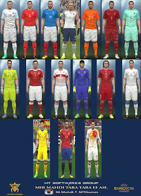 PES 2016 Euro 2016 Kit v.1 by MT Games 1991